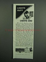 1951 Cutler-Hammer Multi-Breaker Ad - Lights Out?