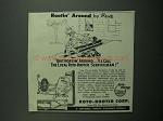 1951 Roto-Rooter Corp. Ad - Rootin' Around by Bene