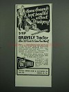 1951 Gravely Tractor Ad - Home Grounds Kept Beautiful