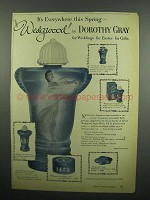 1954 Wedgwood by Dorothy Gray Ad - Eau de Cologne