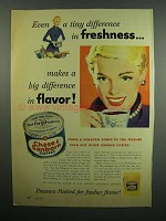 1954 Chase & Sanborn Coffee Ad - Freshness