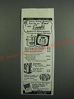 1954 Evenflo Bottle Sterilizer, Warmer & Food Dish Ad