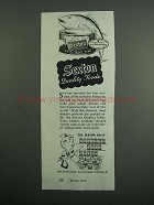 1954 Sexton White meat Tuna Ad - Quality Foods
