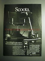 1984 A-BEC Mobility Scoota Scooter Ad