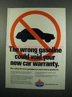 1984 Amoco Gasoline Ad - Could Void Your Warranty