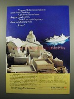 1984 Royal Viking Line Ad - In the Greek Isles