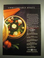 1984 Hyatt Hotels Ad - Unmistakably Hyatt