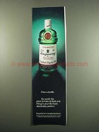 1984 Tanqueray Gin Ad - Own a Bottle