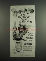 1984 Angostura Aromatic Bitters Ad - Great Flavorings