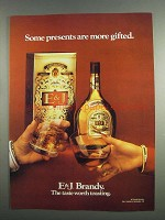 1984 E&J Brandy Ad - More Gifted