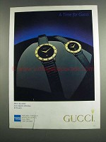 1984 Gucci Watches Ad
