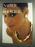 1984 Napier Jewelry Ad - Napier Is Showier