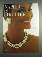 1984 Napier Jewelry Ad - Napier is Likelier