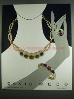 1984 David Webb Jewelry Ad