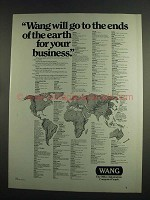 1984 Wang Computers Ad - Go To The Ends of the Earth