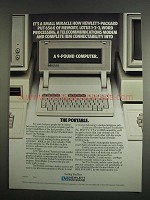 1984 Hewlett-Packard The Portable Computer Ad