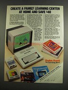 1984 Radio Shack Color Computer 2 Ad - Family Learning