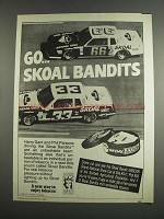 1984 Skoal Bandits Ad - Harry Gant and Phil Parsons