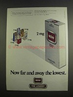 1984 Now Cigarettes Ad - Now Far and Away