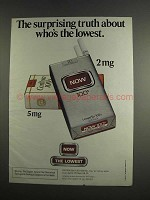 1984 Now Cigarettes Ad - Surprising Truth