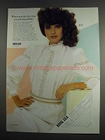 1984 Royal Silk Style #116901 Victorian Blouse Ad