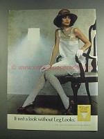 1984 Burlington Leg Looks Pantyhose Ad
