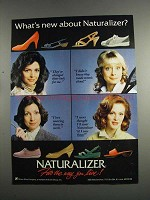 1984 Naturalizer Shoes Ad - What's New About