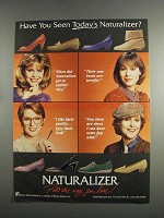 1984 Naturalizer Shoes Ad - Have You Seen