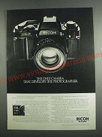 1984 Ricoh XR-P Camera Ad - Develops the Photographer