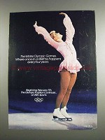 1984 ABC Sports Winter Olympic Games Ad