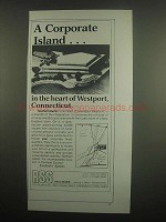 1984 Westport Connecticut Ad - A Corporate Island