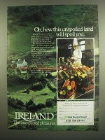 1984 Irish Tourist Board Ad - This Unspoiled Land