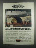 1984 MoorMan's Products Ad - What's Left Out
