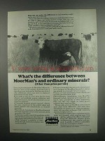 1984 MoorMan's Products Ad - What's the Difference