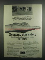 1984 MoorMan's Roughage Buster with Biuret Ad - Economy
