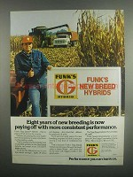 1984 Funk's New Breed Hybrid Seeds Ad - Eight Years