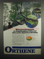 1984 Ortho Orthene Tree & Ornamental Spray Ad