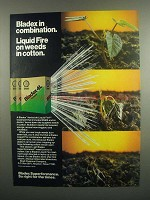 1984 Shell Bladex 4L Herbicide Ad - Liquid Fire