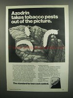 1984 Shell Azodrin 5 Insecticide Ad - Tobacco Pests