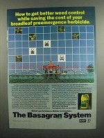 1984 BASF Basagran System Ad - Better Weed Control