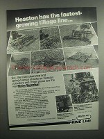 1984 Hesston Ad - Tandem Discs, Cutter Chisels