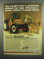1984 Hesston 1180 DT Tractor Ad - Buy a Workhorse