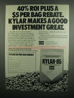 1984 Uniroyal Kylar-85 Ad - Good Investment Great