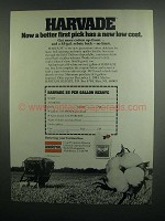 1984 Uniroyal Harvade Ad - Better First Pick