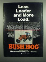 1984 Bush Hog 3450 Loader Ad - More Load