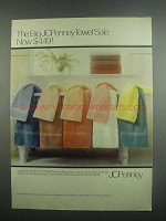 1984 JCPenney Bath Towels Ad - The Big Sale