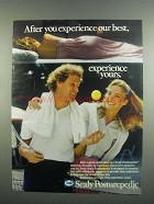 1984 Sealy Posturepedic Mattress Ad - Experience Best