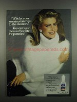 1984 Woolite Detergent Ad - Your Sweaters