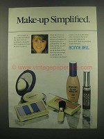 1984 Bonne Bell Makeup Ad - Make-up Simplified