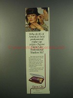 1984 Flame Glo Professional Shadow Kit Ad - Artists